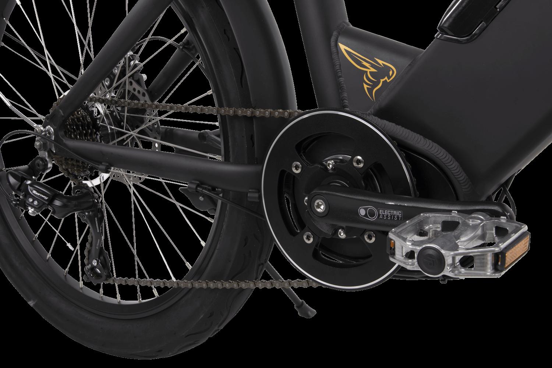 Buzz E-Bike mid-drive motor